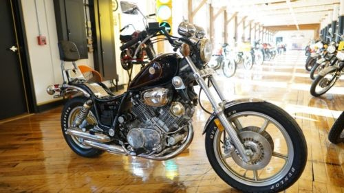 1985 Yamaha Virago Black photo