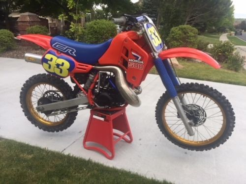 1986 Honda CR Red for sale