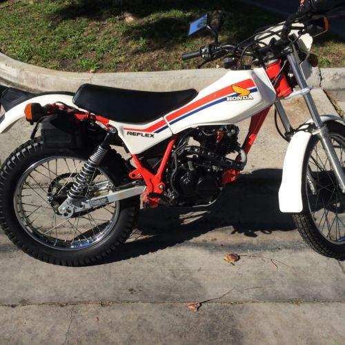 1986 Honda TLR200 White photo