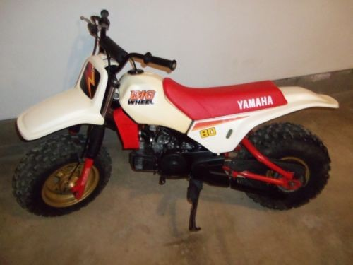 1986 Yamaha BW White photo