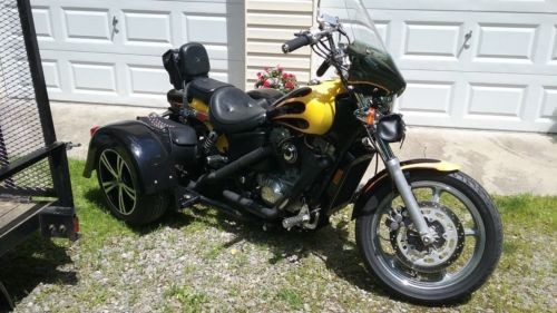 1987 Honda Shadow Black with scallops photo