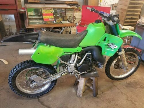1987 Kawasaki KX500 Green for sale