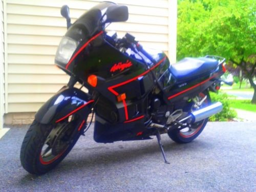 1988 Kawasaki Ninja Black photo