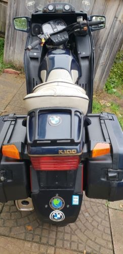 1989 BMW K-Series Blue photo