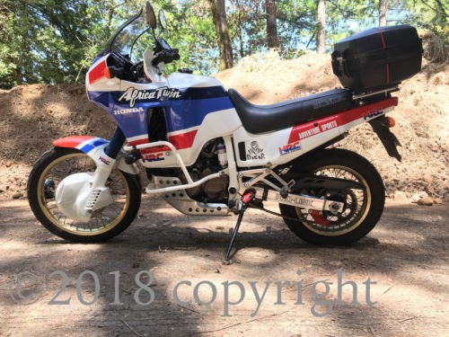 1989 Honda Africa Twin Red White & Blue for sale