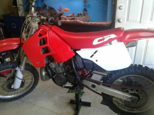 1989 Honda CR Red photo