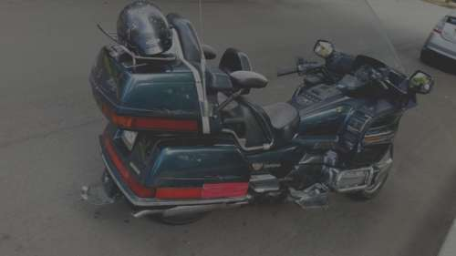 1989 Honda Gold Wing Blue for sale