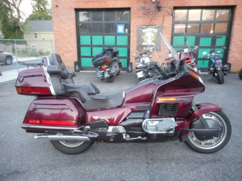 1989 Honda Gold Wing Burgundy for sale