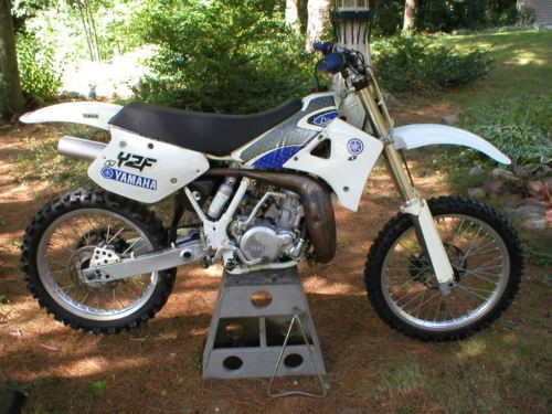 1989 Yamaha YZ White photo