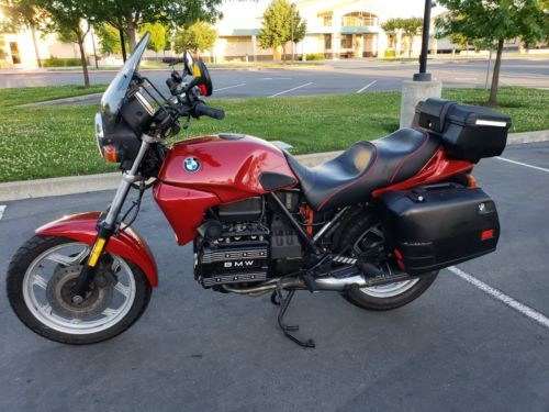 1990 BMW K-Series Red photo