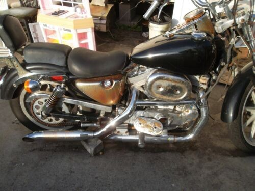 1990 Harley-Davidson Touring Blue photo