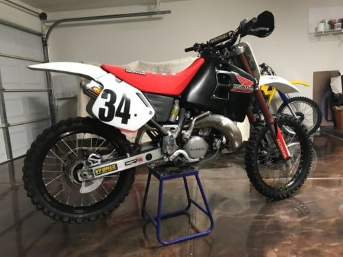 1990 Honda CR White photo
