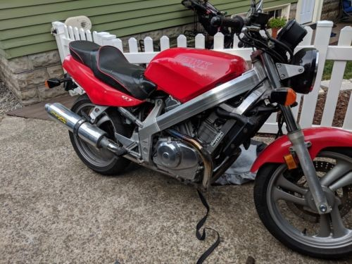 1990 Honda Hawk NT650 Red for sale