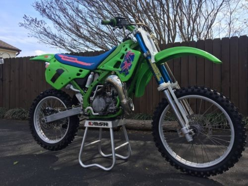 1991 Kawasaki KX Green for sale craigslist