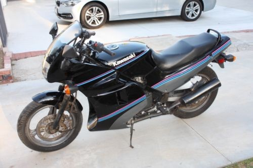 1991 Kawasaki Ninja Black photo