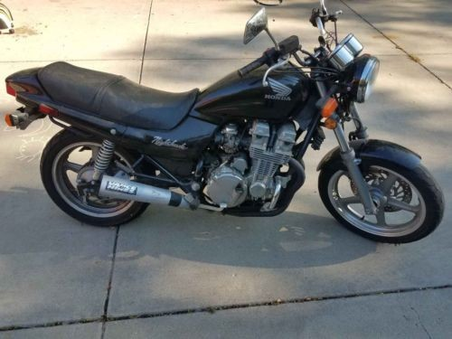 1992 Honda CB Black photo