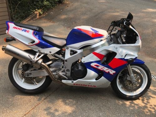 1993 Honda CBR Red, White, Blue for sale
