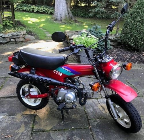 1993 Honda CT Red photo