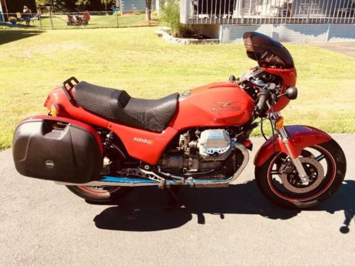 1993 Moto Guzzi Strada Red for sale craigslist