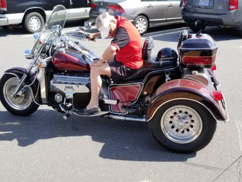 1994 Custom Built Motorcycles Custom Harley Davidson Burgundy for sale