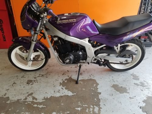 1994 Suzuki GS Purple photo