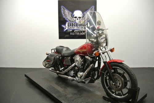 1995 Harley-Davidson FXDS – Dyna Glide Convertible — Red craigslist
