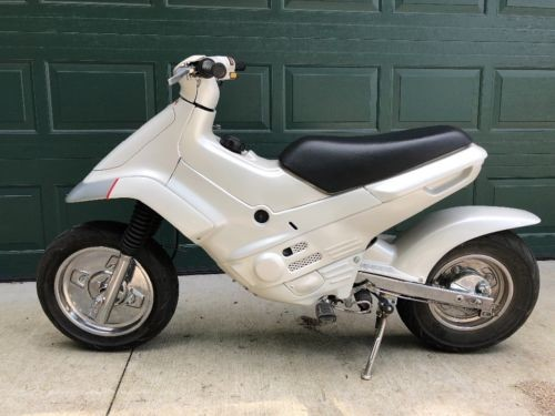 1995 Honda EZ90 Cub White photo