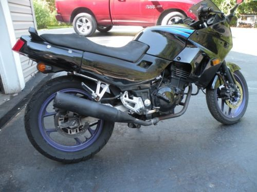 1995 Kawasaki Ninja Black photo
