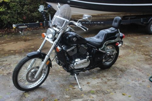 1995 Kawasaki Vulcan 800 VN Black photo