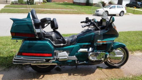 1996 Honda Gold Wing Green for sale