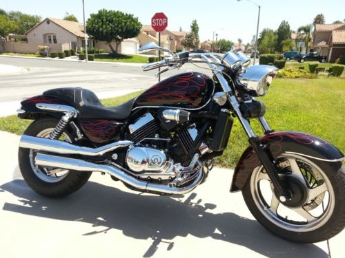 1996 Honda Magna Black with Red Flames for sale craigslist