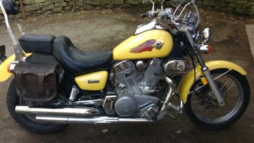 1996 Kawasaki Vulcan Yellow for sale craigslist