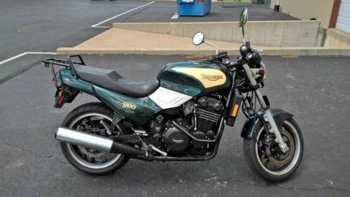 1996 Triumph Trident Green for sale craigslist