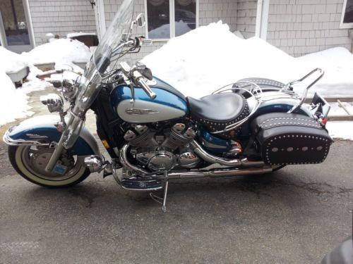 1996 Yamaha Cruiser Sapphire Blue, Onyx White for sale