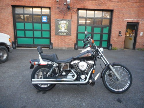 1997 Harley-Davidson Dyna Black photo