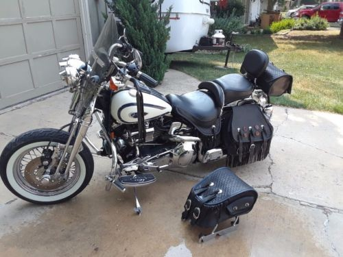 1997 Harley-Davidson Softail White for sale craigslist