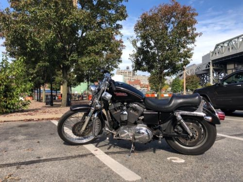 1997 Harley-Davidson Sportster Black photo