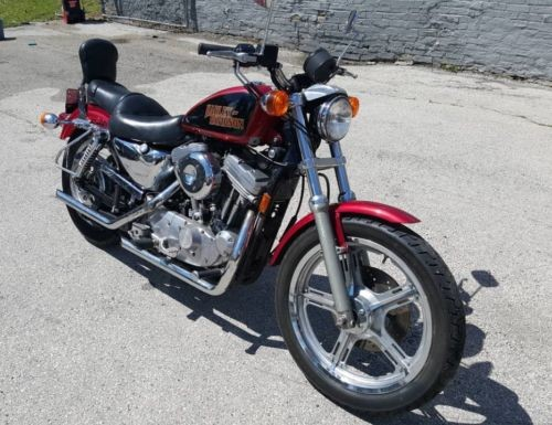 1997 Harley-Davidson Sportster Burgundy photo