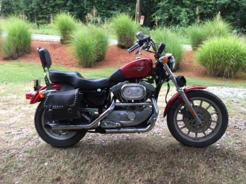 1997 Harley-Davidson Sportster Red photo