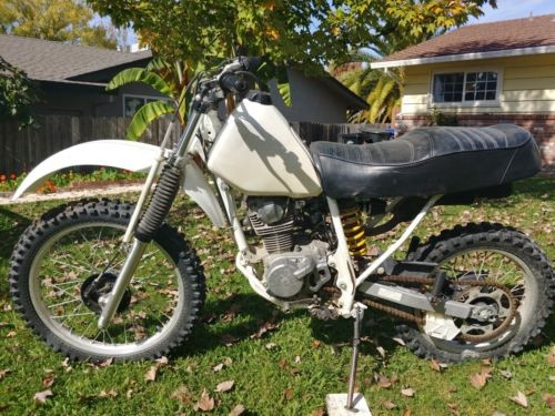 1997 Honda XR White for sale craigslist