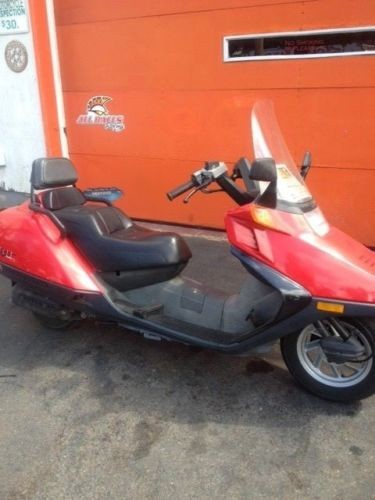 1997 Honda helix Red photo