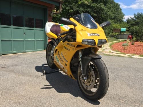 1998 Ducati Superbike Yellow photo