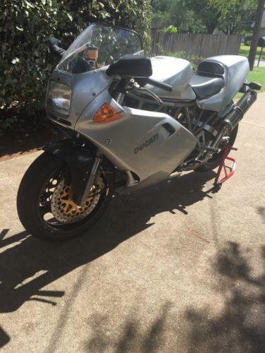 1998 Ducati Supersport Silver photo