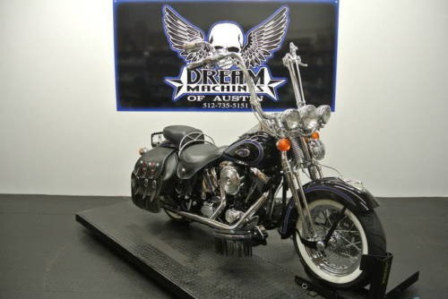 1998 Harley-Davidson FLSTS – Heritage Softail Springer — Black for sale craigslist