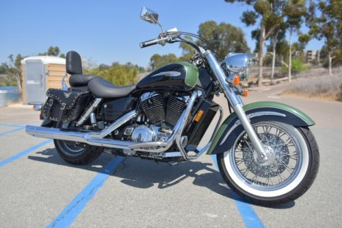 1999 Honda Shadow Green photo