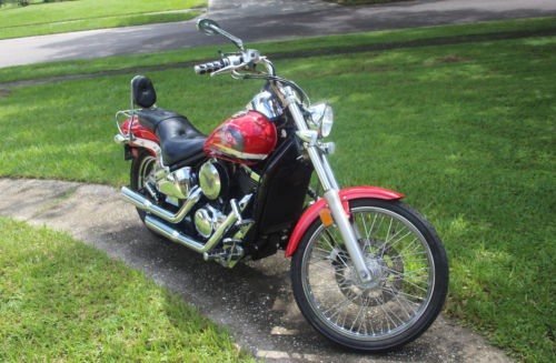 1999 Kawasaki Vulcan Red for sale craigslist