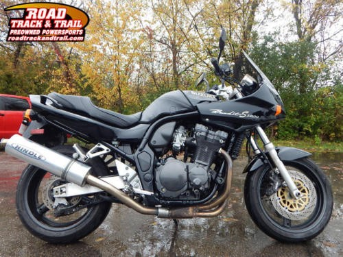 1999 Suzuki Bandit 1200 S -- Black photo
