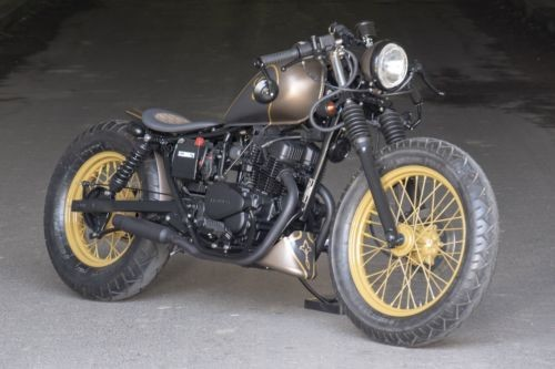 2000 Custom Built Motorcycles Bobber  photo