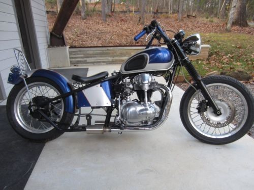2000 Custom Built Motorcycles Bobber Silver photo