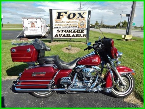 2000 Harley-Davidson FLHTCI Electra Glide Classic – Injected Luxury Rich Red for sale